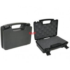 10 inch Hard Plastic Pistol Gun Case WITH CUT OUT FOAM Anglo Arms