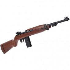 Springfield Armory M1 Carbine Blowback Air Rifle 12g Co2 Full Metal Action 4.5mm BB Authentic Replica with wood stock