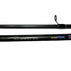 11ft, 2pc Eurostar traverse UK Carp rod 2.5lb Fibre Glass, extra £10.00 of price when collected from store