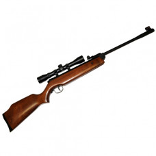 Webley Cub Junior Spring Air Rifle Wood Stock .177 calibre fitted with WEBLEY 4 x 32 Scope ideal for young starters, clubs and scouts