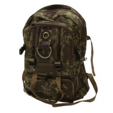 Camo Army style Basic cheap Rucksack, Back Pack with a number of zip storage compartments